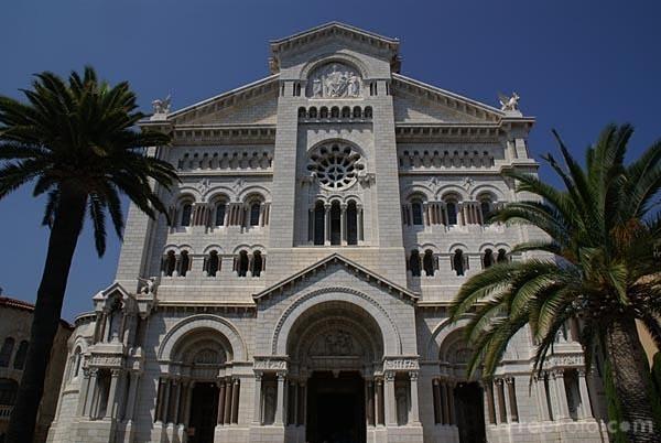 Monaco Cathedral In Monaco Ville Monaco Tourist Spots
