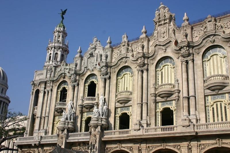 The Great Theatre of Havana – Cuba  Tourist Spots Around ...
