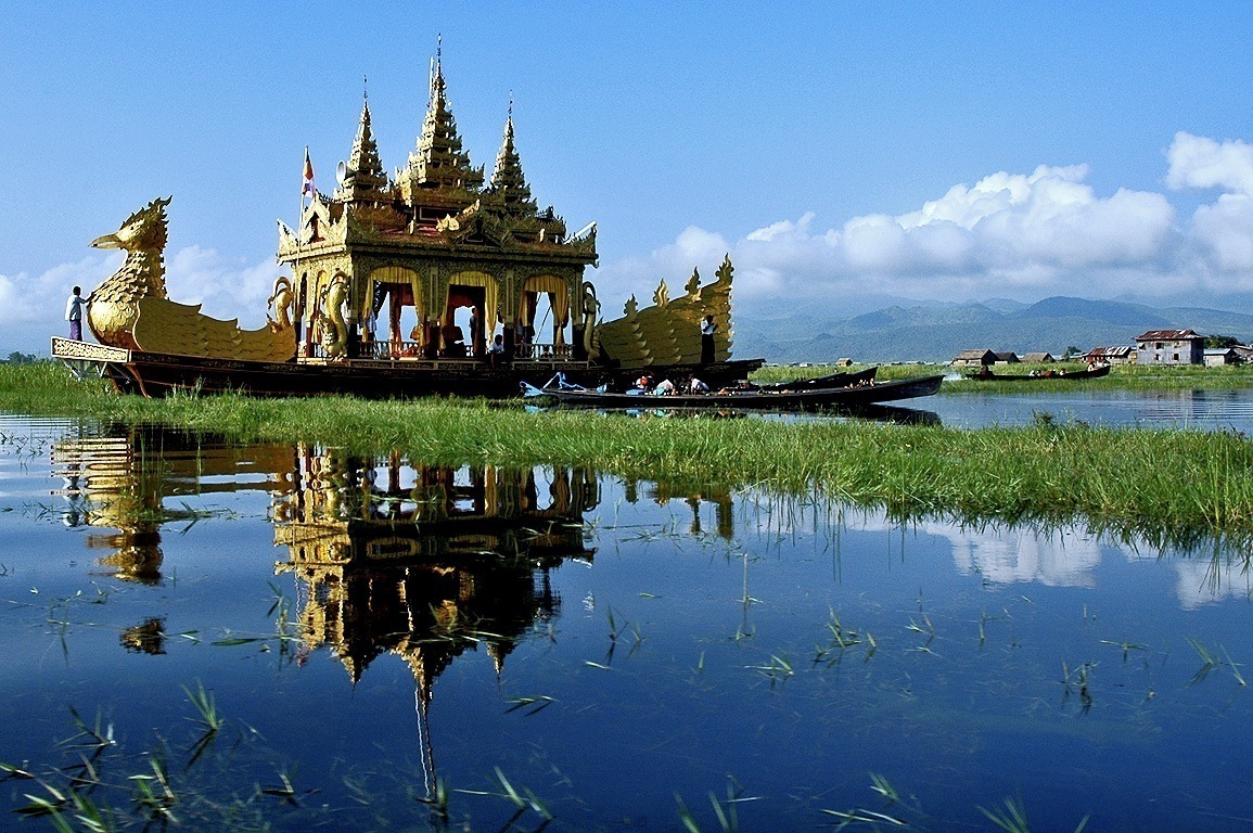 Inle Lake Myanmar  city pictures gallery : Inle Lake in Myanmar – Burma | Tourist Spots Around the World