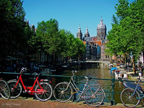 Amsterdam holland tourist spots around the world