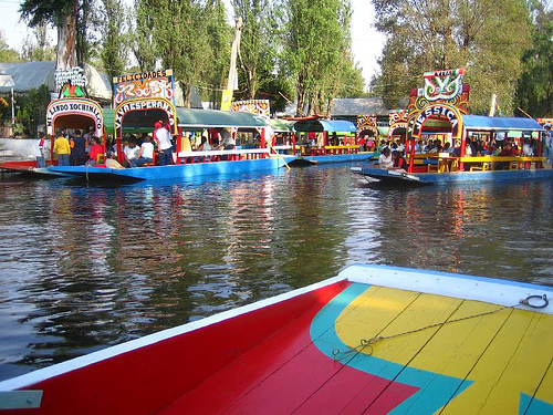Floating Gardens Of Xochimilco Mexico Tourist Spots Around The World