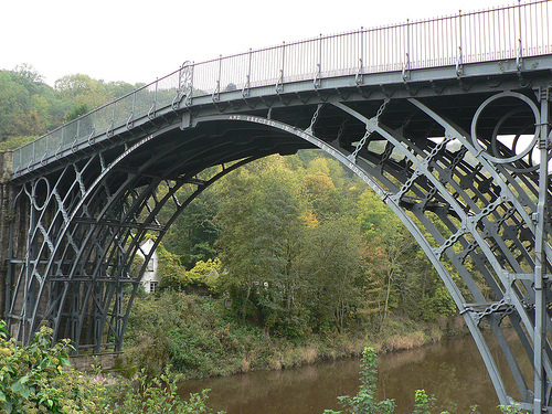 Iron Bridge In England United Kingdom Tourist Spots