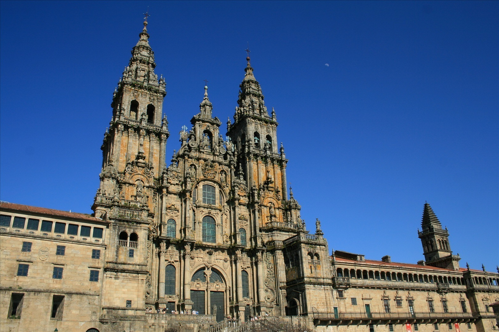 Santiago de Compostela Cathedral in Galicia – Spain  Tourist Spots Around th...