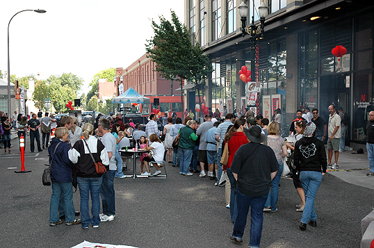 Art Institute of Portland Block Party