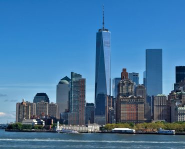 Manhattan skyline (from The Staten Island Ferry)
