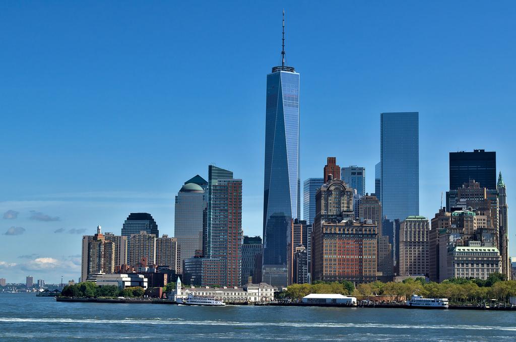 Manhattan skyline (from The Staten Island Ferry)