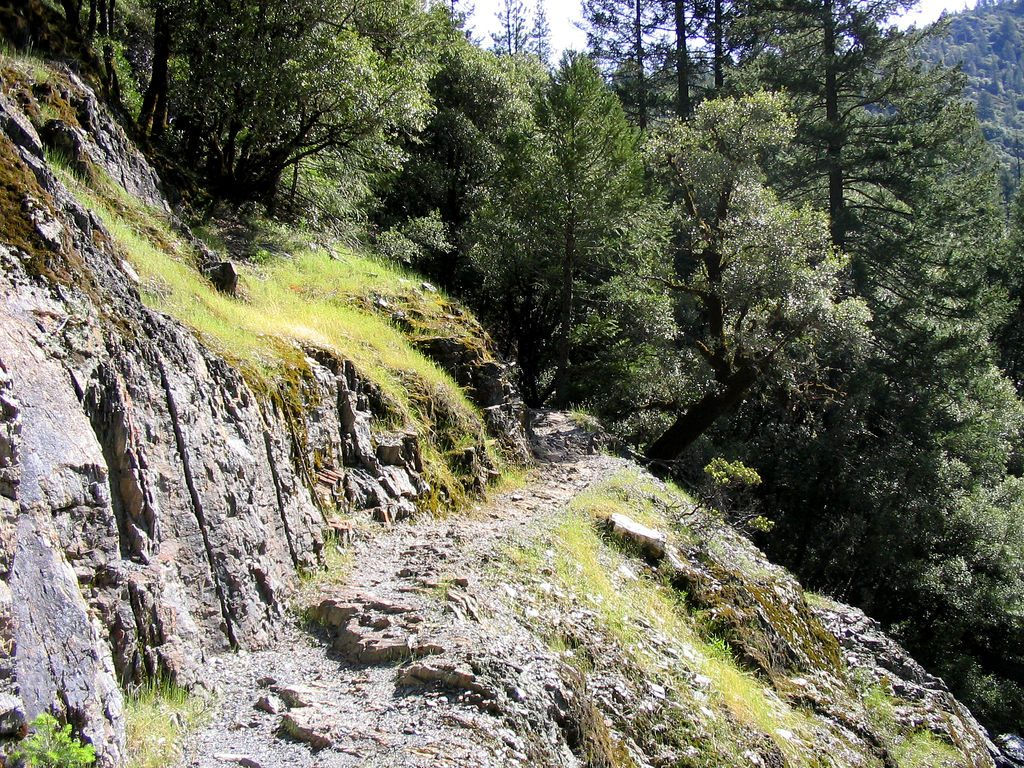 Climbing the Downieville Downhill